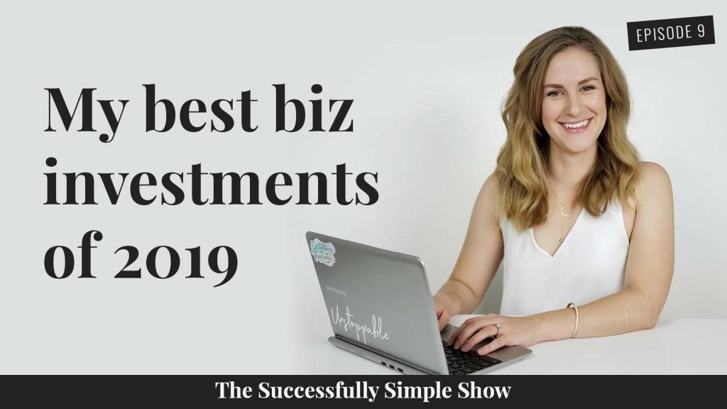 What were my best business investments of 2019? Tune in to find out!