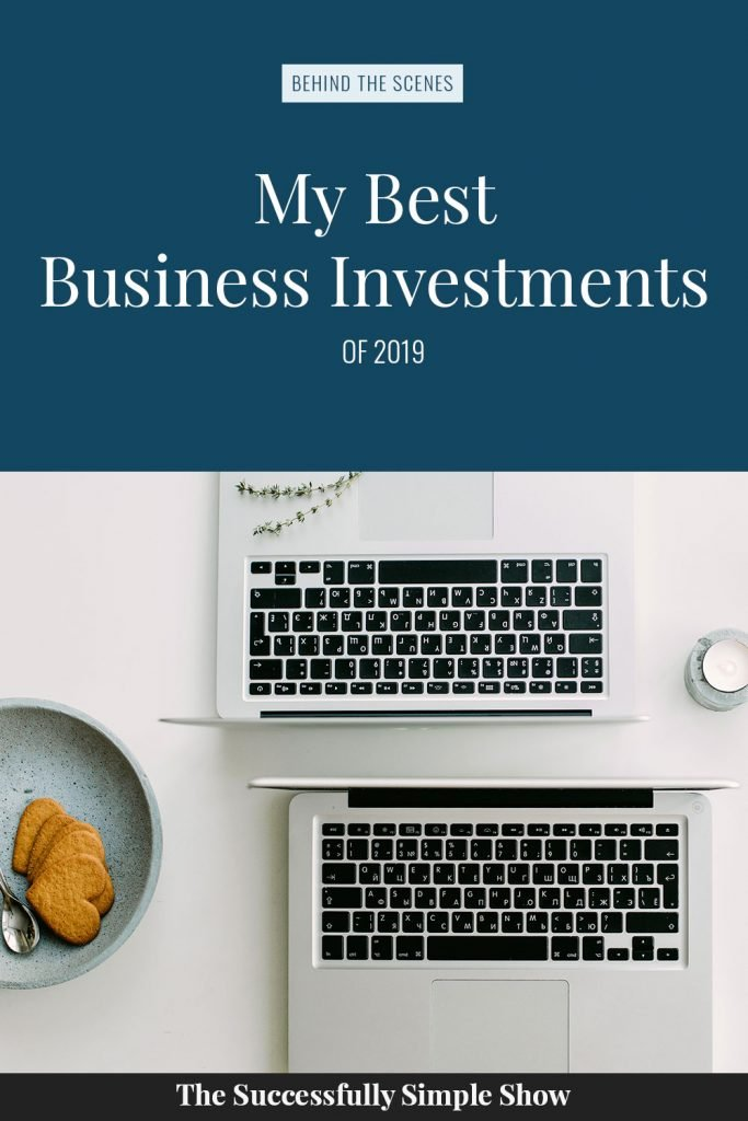 My best business investments of 2019
