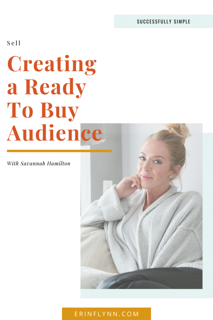 Creating a ready-to-buy audience