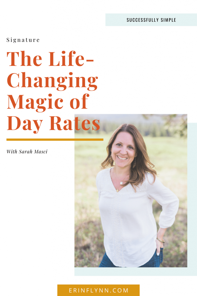 Day Rates with Sarah Masci on Successfully Simple