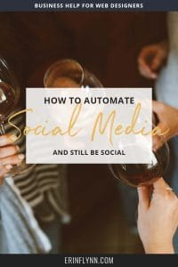 "Automating social media is kind of... not social. And I have mixed feelings about it. After all, if we're all just loading up queues and looping content, but not actually going on social media, then it's not very social is it? On the other hand, you can't possibly run a business and work with clients, if you're stuck on social media posting as often as you're ""supposed"" to post. You'd never get any actual work done. So here's how I automate my social media, while still staying social. Click through to read now!"