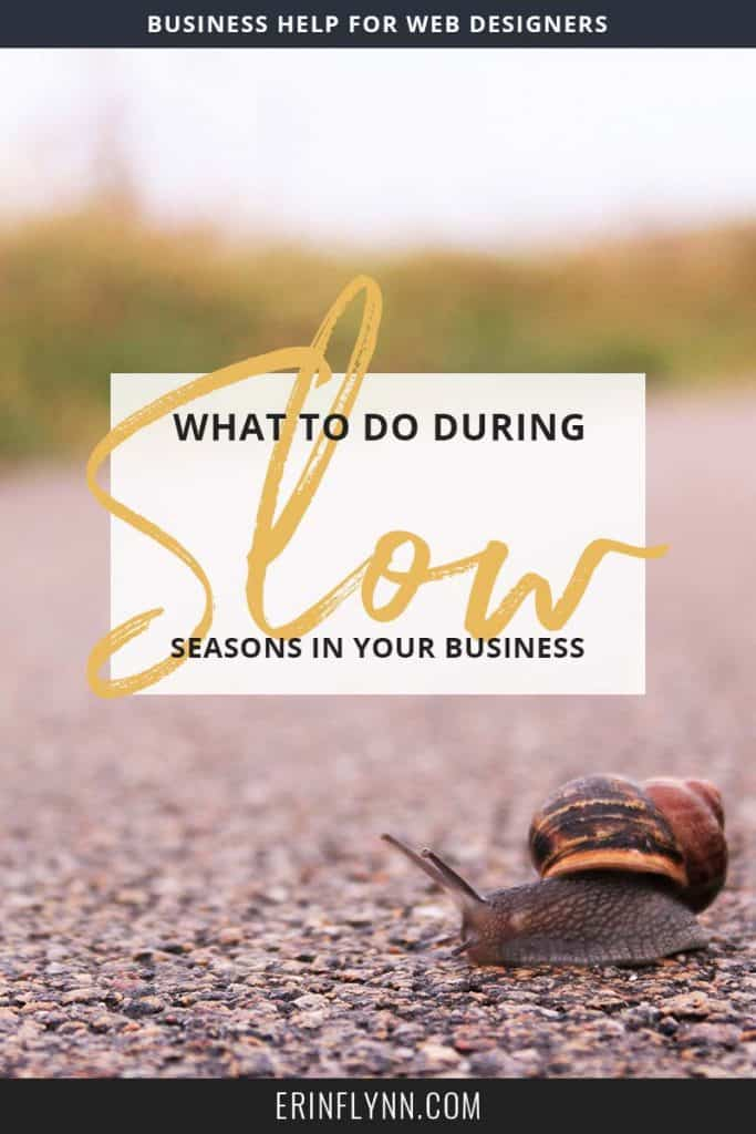 We've all been there, things are going along swimmingly and then suddenly we hit a lull in business. But you don't have to freak out! Here's what to do when business is slow!