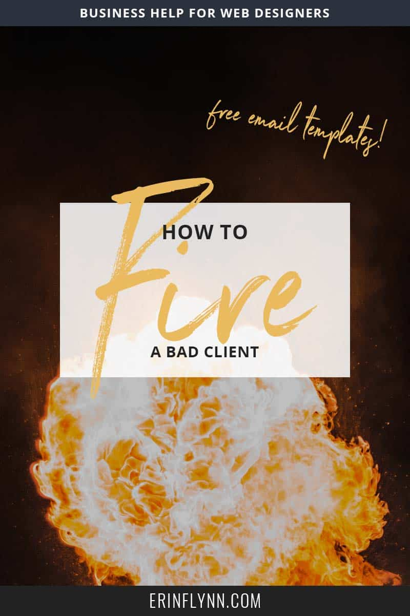 A client might be a bad fit for a number of reasons: her project may be of no interest to you, she may communicate differently from you (phone vs. email), she might need it sooner than you can manage--the list goes on and on. None of those things make her a bad client, they just make her a bad fit for you. So what do you do? Click through to find out now!