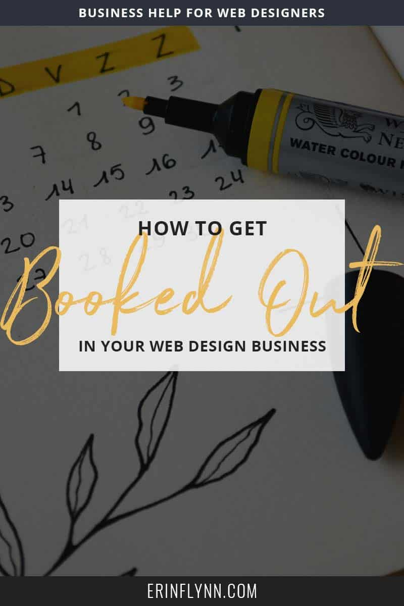 One of the things web designers struggle with the most is knowing where their next client is coming from. Many of us go through feast and famine cycles where we are either swamped with our workloads, or desperately searching for our next client. Here are a few simple tips to help you get booked out in advance!