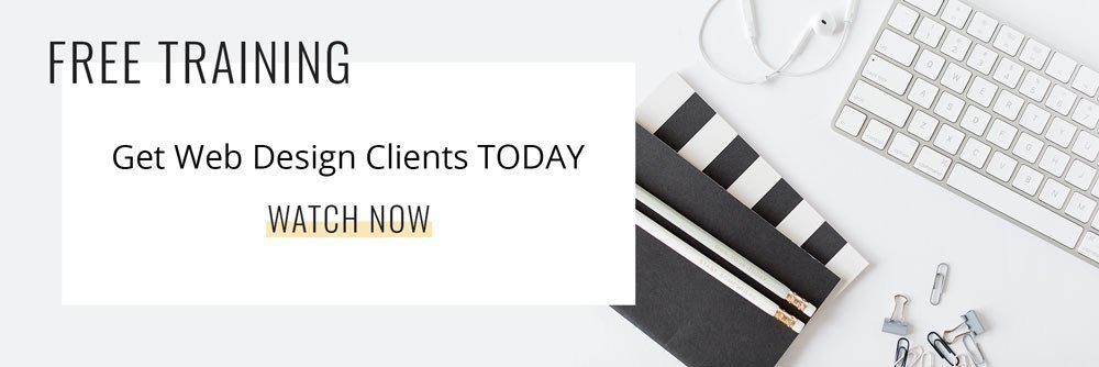 Free training! Learn how to get clients today. Watch now!