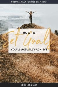 The new year always brings a fresh start. And with that fresh start, we set goals. But the problem most of us face is that we set goals that sound great, but with no plan to actually achieve them. So how do you set goals that you'll actually achieve? Click through to learn how to set goals you'll actually achieve this year!