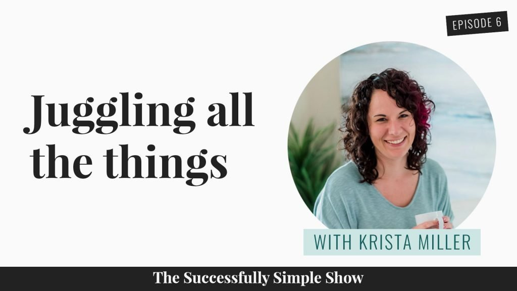 Krista miller is wonder woman, juggling two businesses and a toddler!