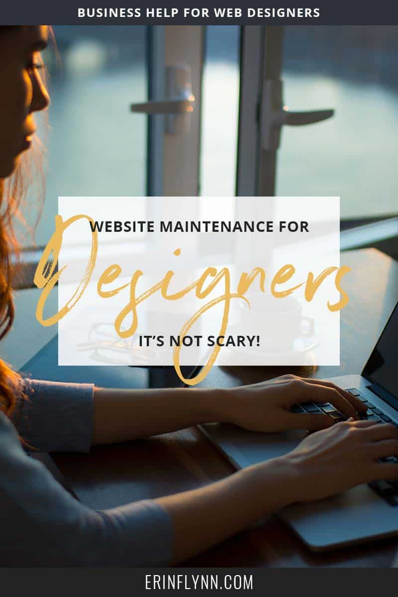 I know: you're a designer, blessed with Illustrator superpowers and an eye for design, but that doesn't mean you can ignore website maintenance! Click through to learn what you need to do to maintain websites, without losing your mind!