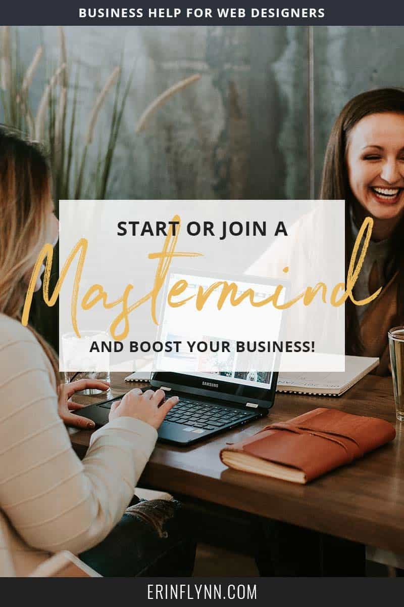 Going it alone in business can be a real struggle, especially when your friends and family don't understand. The best way to make connections and grow your business at the same time, is by participating in a mastermind group.
