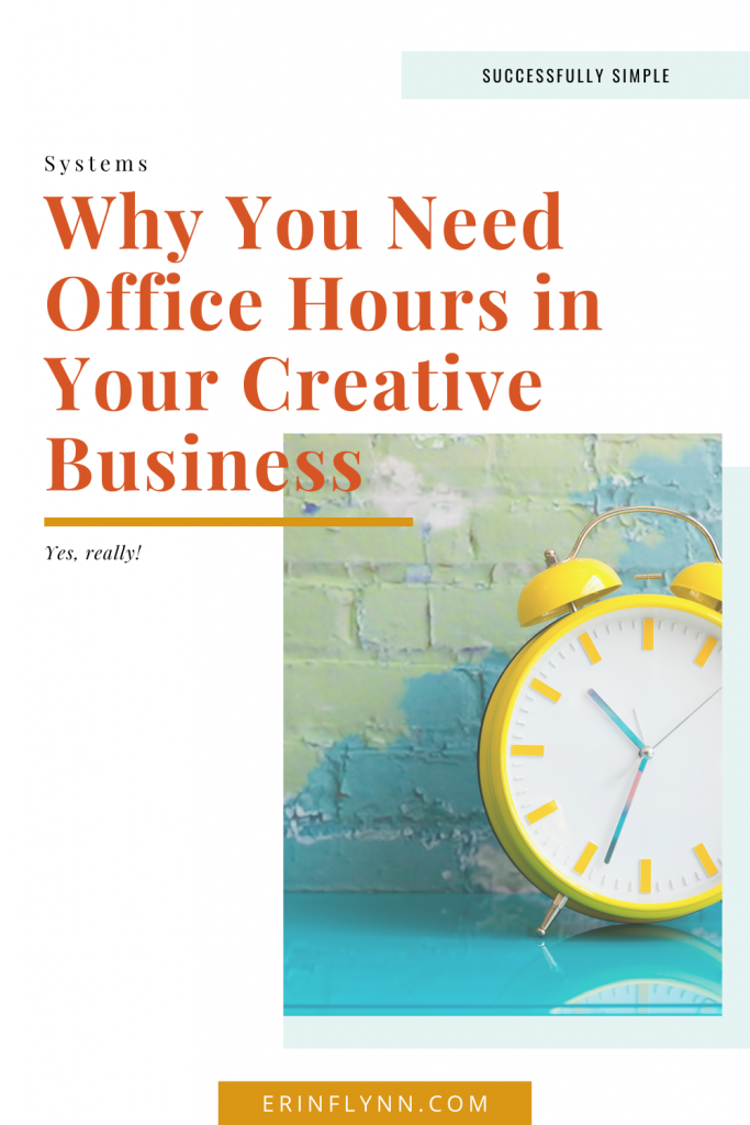Why you need to set office hours in your creative business