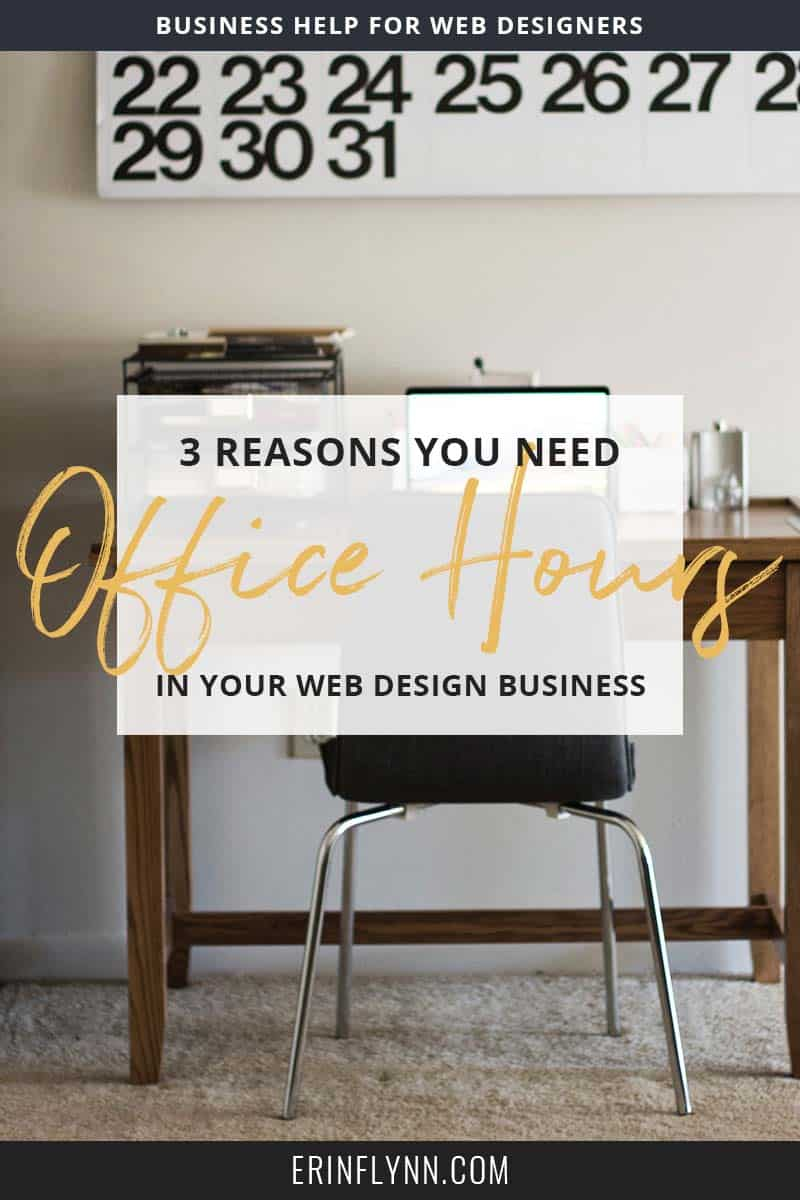 Discover three reasons why you need to set office hours. for your freelance or small business..