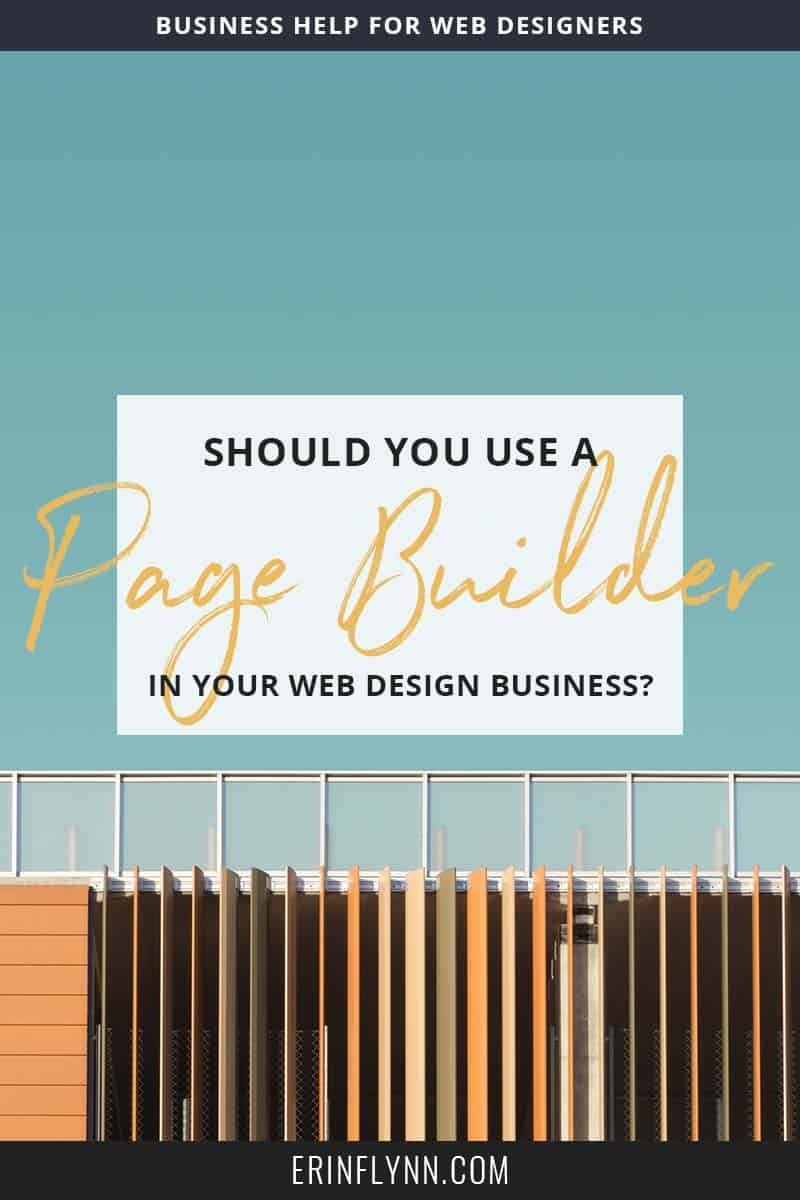 "To use a page builder, or not? Does using a page builder mean you're not a ""real"" developer? Does it undermine the industry? Or does it make things easier for you and your clients and offer a great solution to the struggles many clients face when it comes to editing their websites? Click through to read the post and make a decision!"
