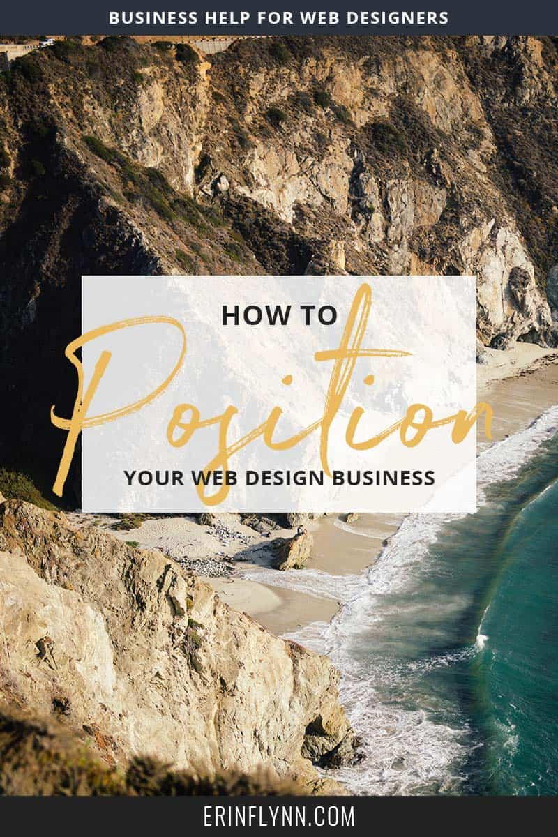 Where you position your business in your market says a lot about you and your business.  Do you want to be the Walmart of webdesign and churn out lots of cheap websites?  Or would you rather be a Louboutin, with a signature style and high prices?  Or maybe you want to fall somewhere in between? Learn how to position your web design business--click through now!