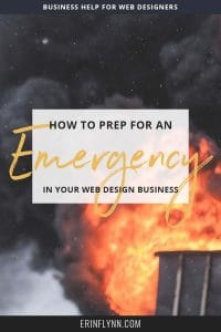 You need to prep your business for an emergency. Whether you're a small business owner, freelancer, or entrepreneur, you never know when an emergency will arise that will take you away from your work. But you can prep your business for an emergency following these simple steps. Click through now to read the post and get your free emergency procedures outline!