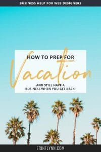 It's time you took a vacation! Do you know how to prep your business for vacation? As entrepreneurs and freelancers, we tend to rarely take time off, since paid vacations are hard to come by. Learn how to prep your business for vacation by clicking through now!