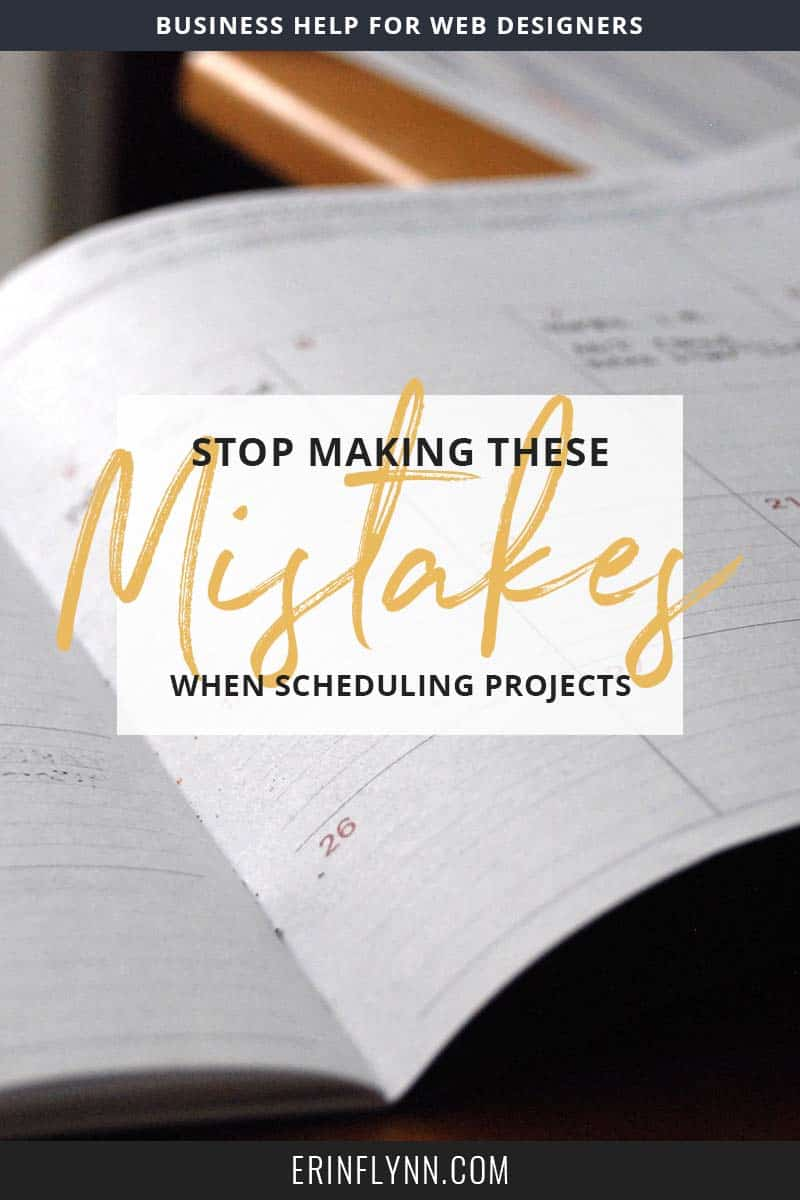 Scheduling projects properly is an art form. If you're dealing with projects taking longer than you thought, or dealing with too many projects at once, check out this blog post and learn how to avoid common project scheduling mistakes! Click through now.