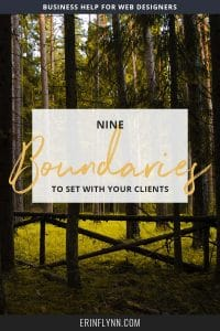 Learn the 9 boundaries freelancers should set with their clients!