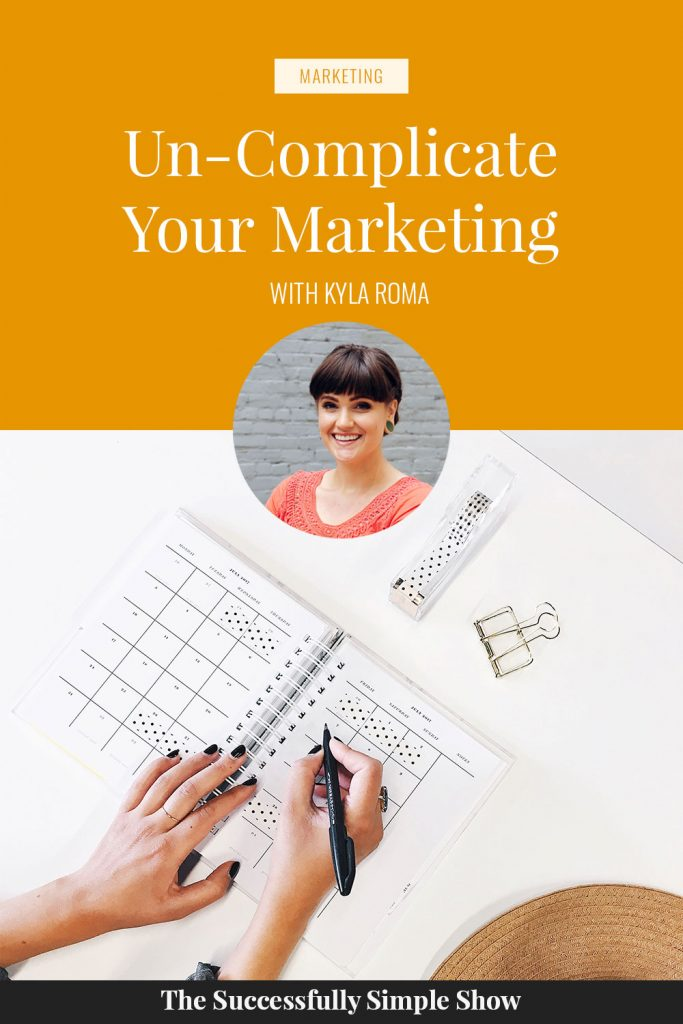 It's time to uncomplicate your marketing!